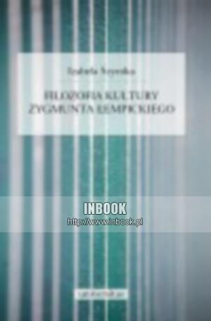 Okładka książki Filozofia kultury Zygmunta Łempickiego