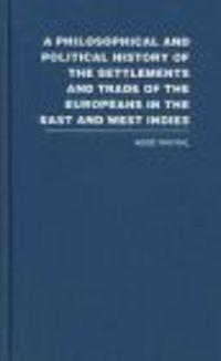 Okładka książki Philosophical &&& Political History of the Settlements 6 vols