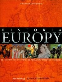 Okładka książki Historia Europy Od starożytnych cywilizacji do początków trzeciego tysiąclecia