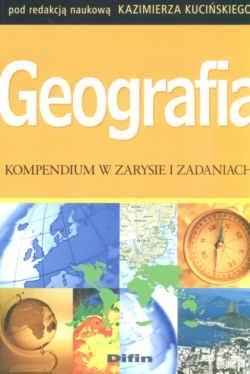 Okładka książki Geografia Kompendium w zarysie i zadaniach