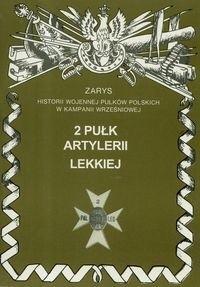 Okładka książki 2 Pułk Artylerii Lekkiej