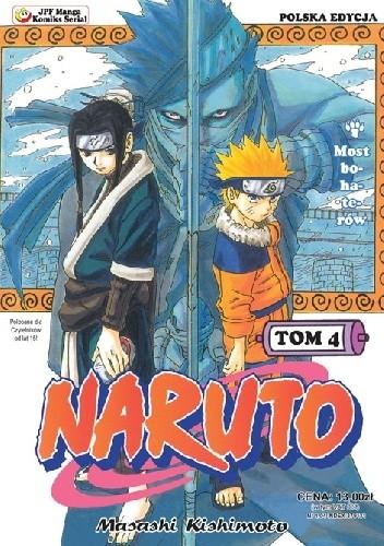 Okładka książki Naruto tom 4 - Most bohaterów