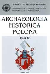 Okładka książki Archeologia Historica Polonia