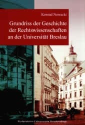 Okładka książki Grundriss der Geschichte an der Universität Breslau