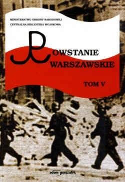 Okładka książki Powstanie Warszawskie. Tom V