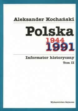Okładka książki Polska     . Informator historyczny, tom II.