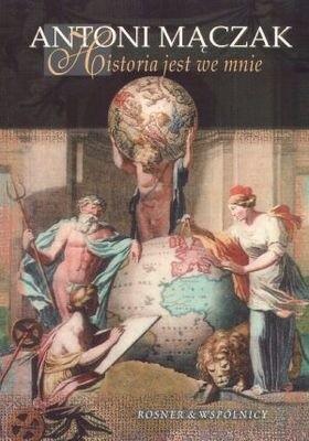 Okładka książki Historia jest we mnie