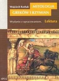 Okładka książki Mitologia Greków i Rzymian.