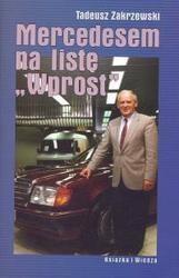 Okładka książki Mercedesem na listę Wprost