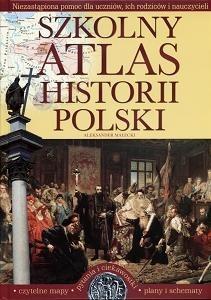 Okładka książki Szkolny atlas historii Polski