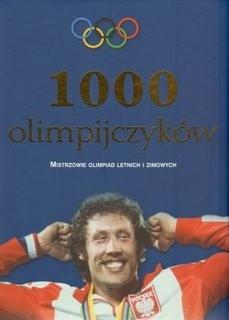 Okładka książki 1000 olimpijczyków
