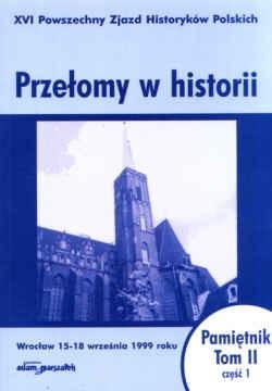 Okładka książki Przełomy w historii Pamiętnik t.2/1