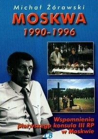 Okładka książki Moskwa 1990-1996