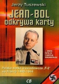 Okładka książki Jean Bol odkrywa karty + CD