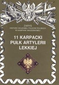 Okładka książki 11 Karpacki Pułk Artylerii Lekkiej
