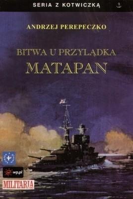 Okładka książki Bitwa u przylądka Matapan