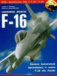 Okładka książki F-16 Lockheed Martin