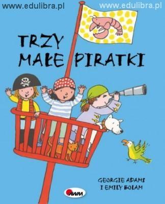Okładka książki Trzy małe piratki