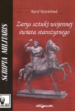 Okładka książki zarys sztuki wojennej świata starożytnego