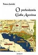 Okładka książki O pochodzeniu Galla Anonima