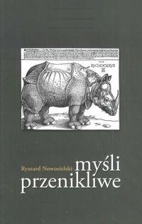 Okładka książki Myśli Przenikliwe