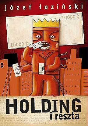 Okładka książki Holding i reszta