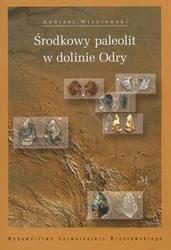 Okładka książki środkowy paleolit w dolinie Odry