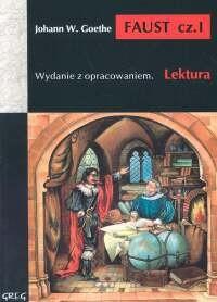 Okładka książki Faust, cz. I