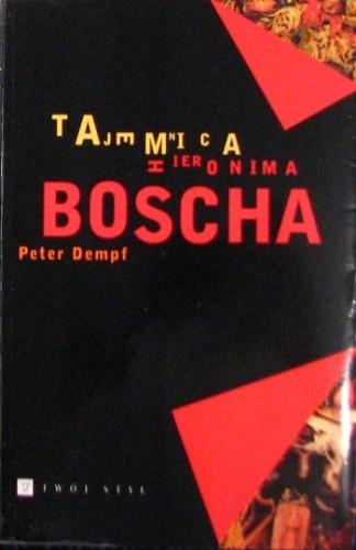 Okładka książki Tajemnica Hieronima Boscha