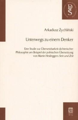 Okładka książki Unterwegs zu einem Denker