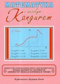 Okładka książki Matematyka z wesołym Kangurem/Różowa/