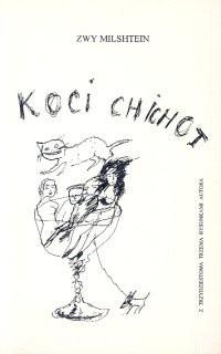 Okładka książki Koci chichot. Powieść z trzydziestoma trzema rysunkami autora