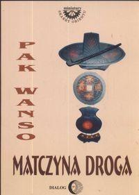 Okładka książki Matczyna droga