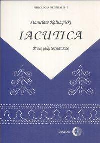 Okładka książki Iacutica. Prace jakutoznawcze