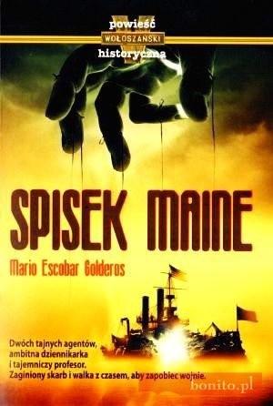 Okładka książki Spisek Maine/Ja, terrorysta! Pakiet dwóch książek