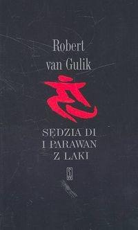 Okładka książki Sędzia Di i parawan z laki