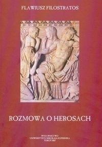 Okładka książki Rozmowa o Herosach