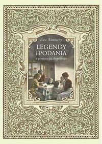 Okładka książki Legendy i podania z powiatu raciborskiego