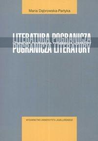 Okładka książki Literatura pogranicza - pogranicza literatury