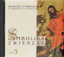 Okładka książki Symbolika zwierząt cz. 3. Heraldyka i symbolika chrześcijańska. CD MP3