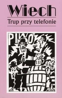 Okładka książki Trup przy telefonie