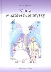 Okładka książki Marta w królestwie myszy