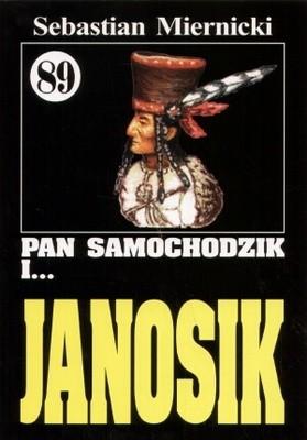 Okładka książki Pan Samochodzik i Janosik