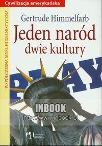 Okładka książki Jeden naród, dwie kultury