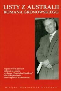 Okładka książki Listy z Australii Romana Gronowskiego