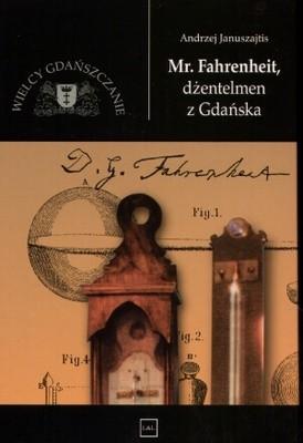 Okładka książki Mr Fahrenheit, dżentelmen z Gdańska
