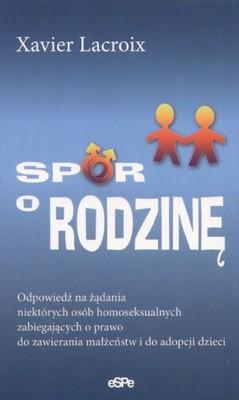 Okładka książki Spór o rodzinę