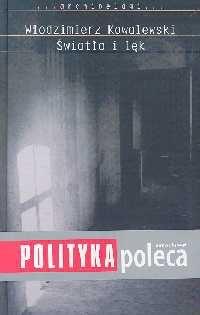 Okładka książki Światło i lęk