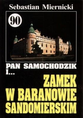 Okładka książki Pan Samochodzik i zamek w Baranowie Sandomierskim