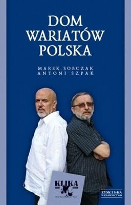 Okładka książki Dom wariatów Polska